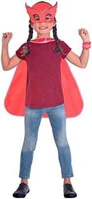 Generique - Kit máscara y Capa Buhita PJ Masks: Amazon.es ...