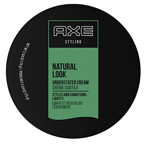 Axe Understated Natural Look Hair Styling Cream 2.64 oz (Pack of 6)