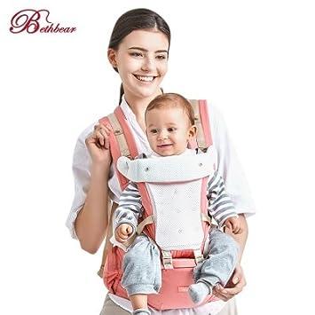 9c5e7fb0740 Amazon.com   Bethbear Hipseat Newborn 4 in 1 Ergonomic Baby Carrier Kid Sling  Backpack   Baby
