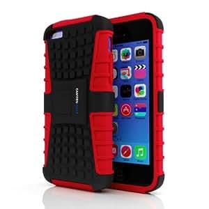 Amazon.com: Camden iPhone 5c and 5s Designer Red Case
