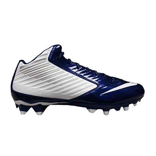 Nike Vapor Speed 3/4 TD Football Cleats (12.5 White/Navy)