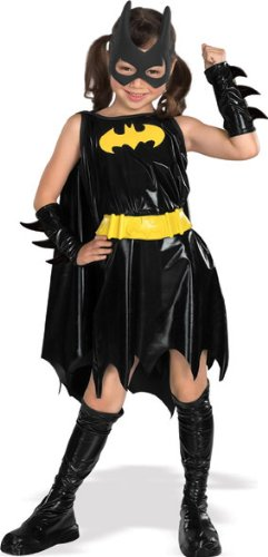 DC Super Heroes Child's Batgirl Costume, Large (Black Lightning Halloween Costume)