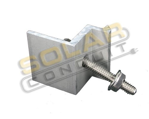 END CLAMP - for MODULES 41-43 MM Thick (1.61