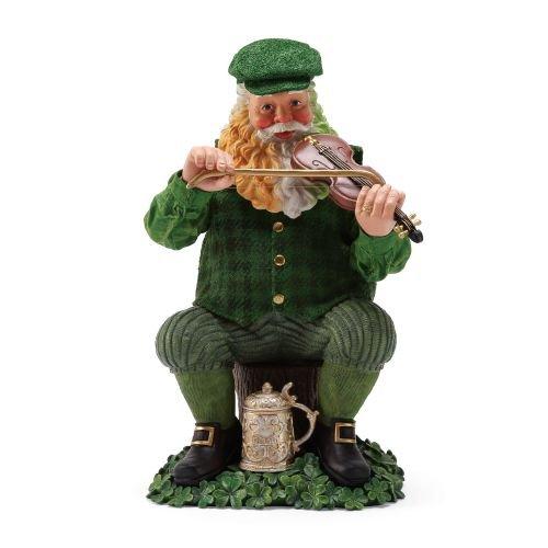 Department 56 Celtic Holiday Santa Fiddle Dee, 9