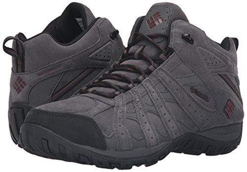 Columbia Men S Redmond Mid Leather Omni Tech Hiking Boots