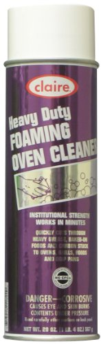 Claire C-824 20 Oz. Heavy Duty Foaming Oven Cleaner Aerosol Can (Case of 12)