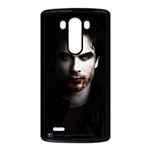 TPU Ian Somerhalder_001 LG G3 Cell Phone Case Black Protective Cover