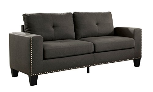 HOMES: Inside + Out IDF-6594-SF Behling Sofa, Grey Review