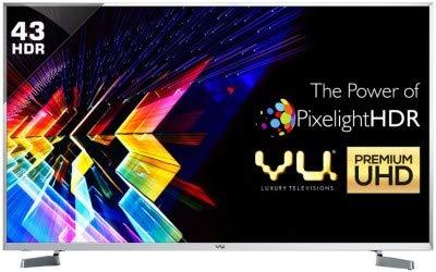 Vu 43SU128 43 quot; 109 cm Android 4K UHD TV Smart Televisions