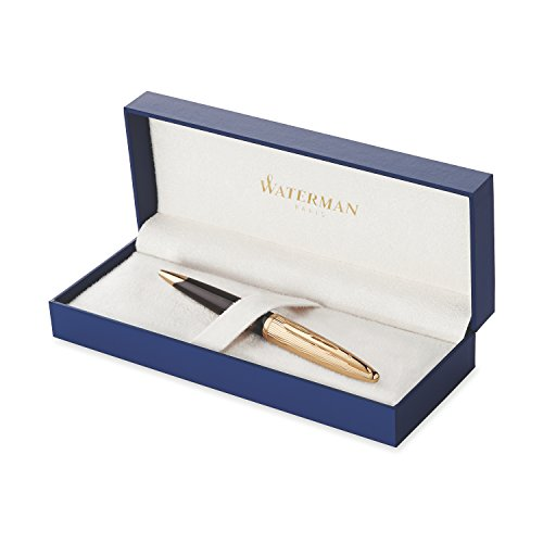 Waterman Carene Essential Black and Gold, Rollerball Pen with Fine Black refill (S0909790) by Waterman (Image #6)