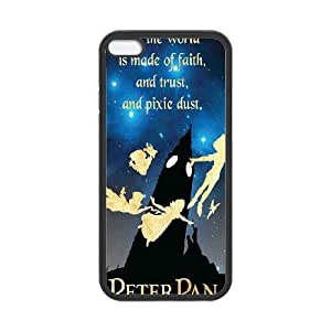 """Popular custom case peter pan phone Case Cove For Apple Iphone 6,4.7"""" screen Cases JWH9202566"""