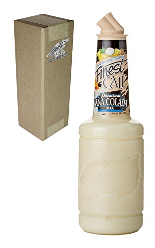 (Finest Call Premium Pina Colada Drink Mix, 1 Liter Bottle (33.8 Fl Oz), Individually Boxed)