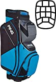 PING 2019 Pioneer Cart Bag(Azure/Grey)