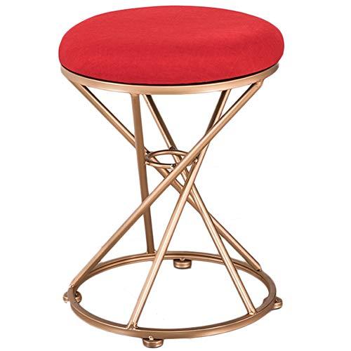 Amazon.com: LPYMX Iron Small Round Stool, Sofa Change