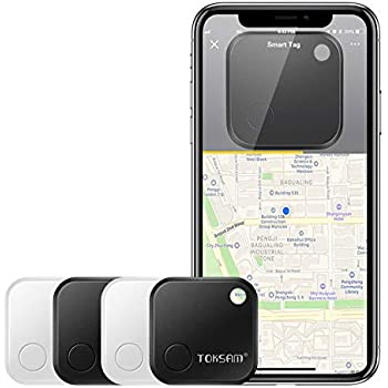 Amazon.com: 4 Pack Key Finder,Phone Finder,Bluetooth Tracking Locator for Keys,Wallet,Bag,Luggage,with App Control,Smart Anti Lost Alarm,for iPhone iOS/Android Compatible[Replaceable Battery/Long Standby Time: GPS & Navigation