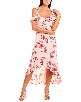 CeCe by Cynthia Steffe Womens Maxi Dress, L, Pink