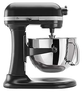 KitchenAid KP26M1XLC 6 Qt. Professional 600 Series Bowl-Lift Stand Mixer - Licorice