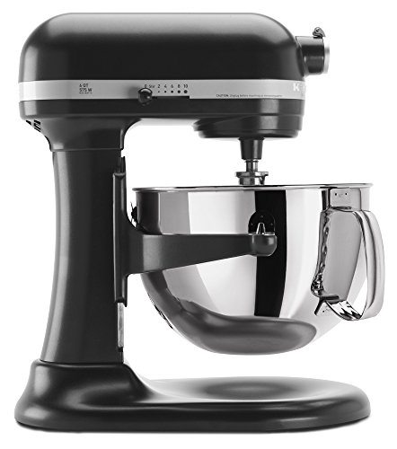 KitchenAid KP26M1XLC 6 Qt. Professional 600 Series Bowl-Lift Stand Mixer - Licorice