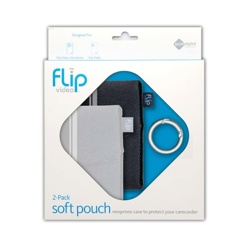 Flip Video Soft Pouch (Two-Pack)