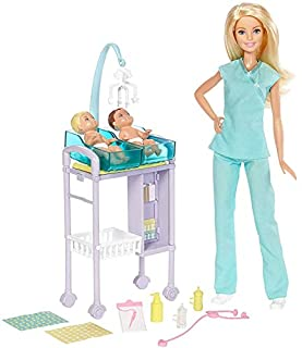 Barbie Careers Baby Doctor Playset (B01L04YDU2) | Amazon price tracker / tracking, Amazon price history charts, Amazon price watches, Amazon price drop alerts