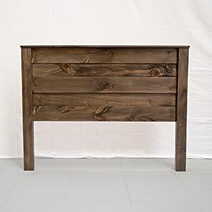 Rustic Farmhouse Headboard - Full/Wood Reclaimed Headboard/Modern/Urban/Cottage Headboard