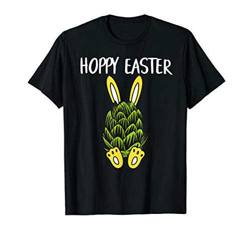 Hoppy Easter Beer Hops Bunny Rabbit T-Shirt Gifts