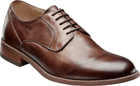 Florsheim Mens Rockit Plain Ox Brown Oxford - 11 3E