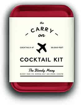 W&P MAS-CARRYKIT-BM Carry on Cocktail Kit, Bloody Mary, Travel Kit for Drinks on the Go, Craft Cocktails, TSA Approved