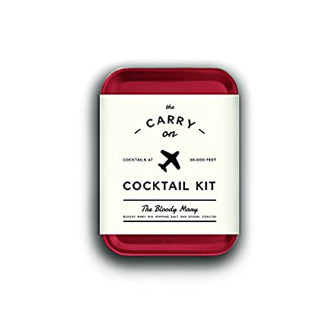 W&P MAS-CARRY-BM-2 Carry on Cocktail Kit, Bloody Mary, Travel Kit for Drinks on the Go, Craft Cocktails, TSA Approved, Pack of 2