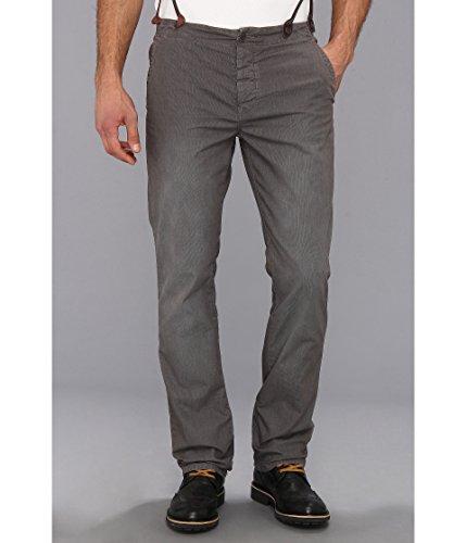 John Varvatos Pewter Slim Suspender Pant 31