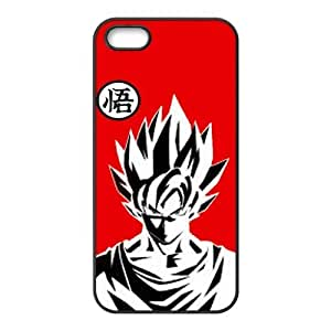 Popular Japanese Anime Dragon Ball Z Goku Especial Durable Hard Plastic Case Cover Fits Apple Iphone 5/5s Design Yedda DIY by ruishername