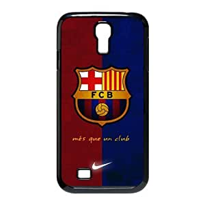 Plastic Protective Case with FC Barcelona pattern Handmade SamSung Galaxy S4 I9500 Hard Cover by runtopwell
