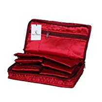 710d43abc61a Kuber Industries Satin Jewellery Pouch