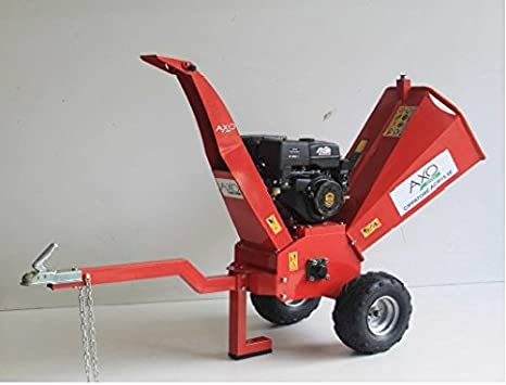 Trituradora a gasolina 15 HP Axo, con arranque a batería: Amazon.es: Jardín