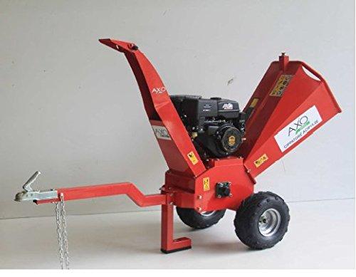 Trituradora a gasolina 15 HP Axo, con arranque a batería: Amazon ...