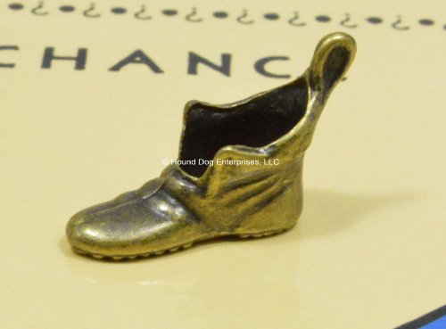 - Genuine Vintage Monopoly Shoe/Boot Token/Mover