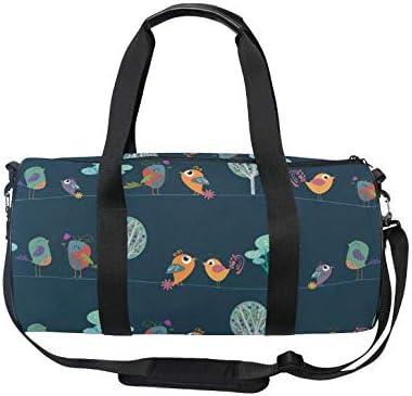 Black Assuit Travel Sport Barrel Duffle Bag