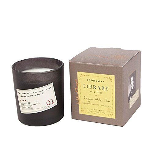 Paddywax Candles Library Collection Edgar Allan Poe