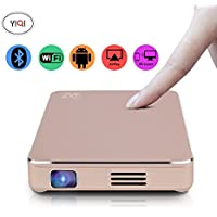 CPX-M7 Smart Mini DLP Projector Android Wifi Portable Home Theater HD 1080P HDMI Output Built-In Battery 1200 Lumens150 Inch-for Home Theater,Outdoors,Party,Travel,Concert,Business,Game