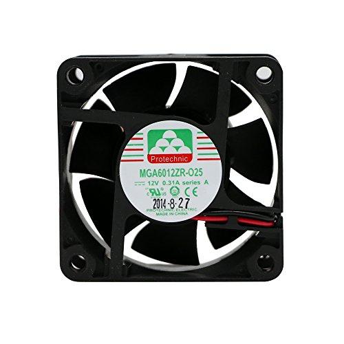 Protechnic Fan 12V, 60 x 60 x 25mm MGA6012ZR-025 A