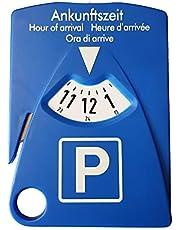 HP-Autozubehör 19943 parkeerschijf met 4 functies - parkeerschijf incl. gordelmeter, parkeerkaarthouder en boodschappenschips