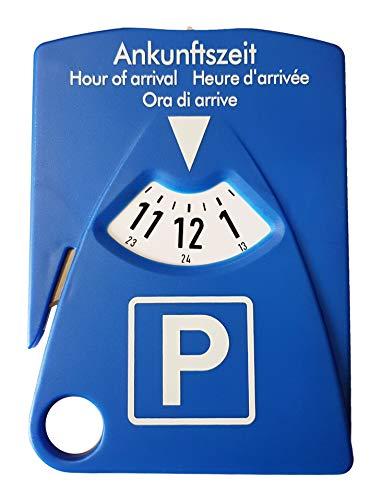 HP-Autozubehör 19943 parkeerschijf met 4 functies – parkeerschijf incl. gordelmeter, parkeerkaarthouder en…