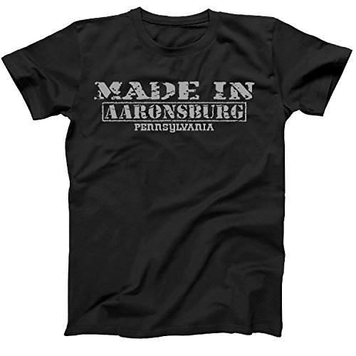 Retro Vintage Style Made in Pennsylvania, Aaronsburg Hometown Shirt