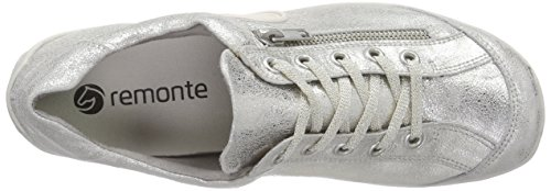 Basses Remonte Argent Silver Dorndorf Sneakers 90 Femme R3408 qx6wR7x8A