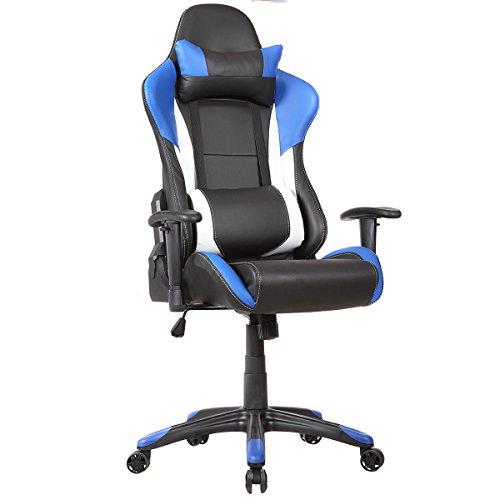 41ptSqsbq%2BL - Giantex Racing Office Chair Ergonomic High Back Recliner Computer Desk Chair