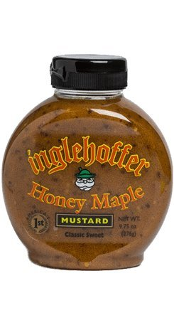 Inglehoffer Honey Maple Mustard, 9.75 Ounce (Pack of 6)