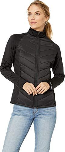 (Straight Down Women's Nova Hybrid Jacket Black Medium)