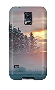 New Style Rugged Skin Case Cover For Galaxy S5- Eco-friendly Packaging(fog) 4098596K87268676