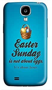 fun Samsung S4 cases Happy Easter Quotess 3D cover custom Samsung S4