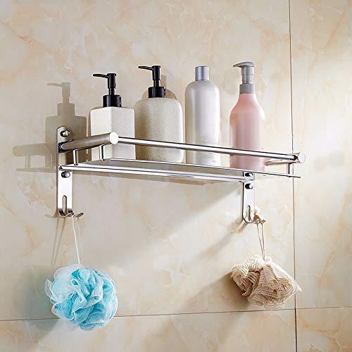 Hjayu Bathroom 304 Toallero de Acero Inoxidable Punch-Free montado montado montado en la Pared 60Cm Toallero 2c3fa1